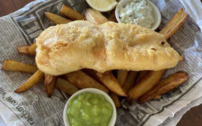 Friday night fish + chips